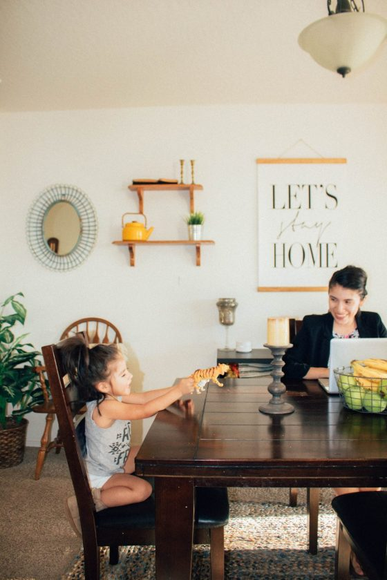 Tips to juggling work and home life