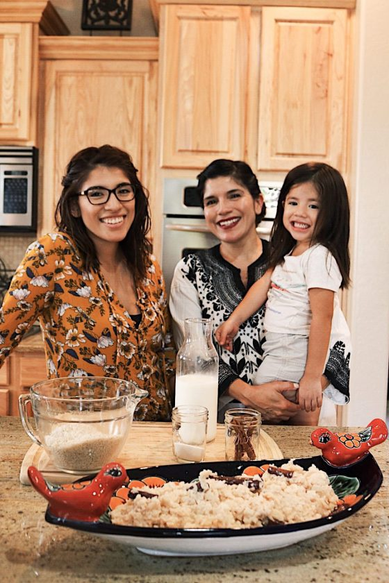 traditional family recipe for hispanic heritage month