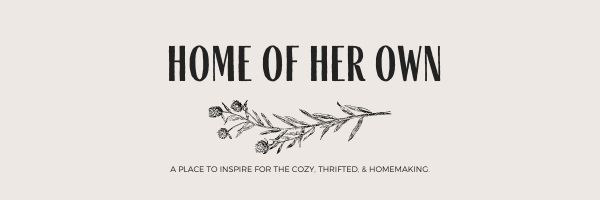 Home of her own